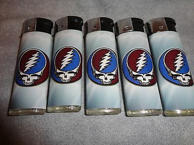 Grateful Dead Rock Band Lighters Set Of 5 Rock And Roll New