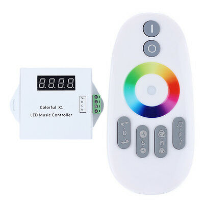 WS2811/WS2812B LED Digital Remote Music Controller DC5-24V ;Can Control 600pixel