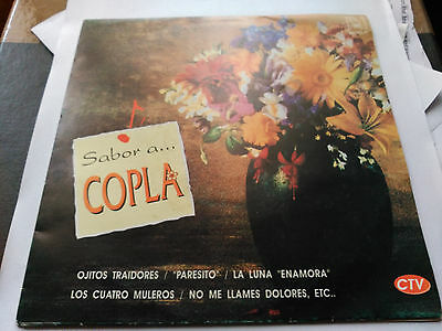 Single Various - Sabor A... Copla - Horus Spain 1992 Vg+