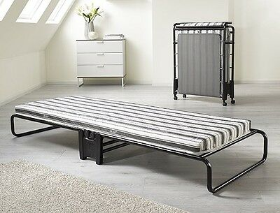 Jaybe Advance Folding Bed with Airflow Fibre Mattress Guest, Rollaway Bed