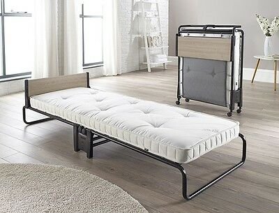 Jaybe Revolution Folding Bed with Pocket Sprung Mattress Guest, Rollaway Bed