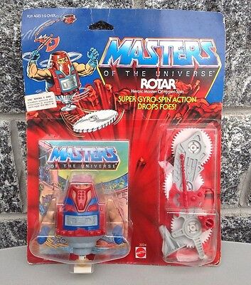 Motu Rotar, Masters Of The Universe, Moc,Carded, Figure, He Man# Sealed Mosc