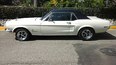 1968 Mustang coupe V8 and Automatic