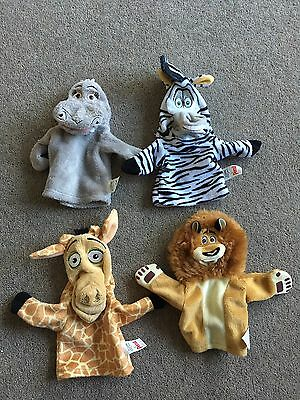 Persil Madagascar Hand Puppets