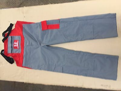 HONDA Bib and Brace Overalls Mens Work Multi Pocket