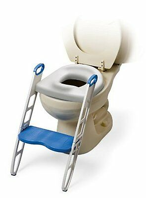 Kids Potty Training Seat with Step Stool Toilet Chair Ladder for Child Toddler