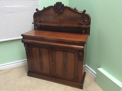 Antique Mahogany Chiffonier Sideboard