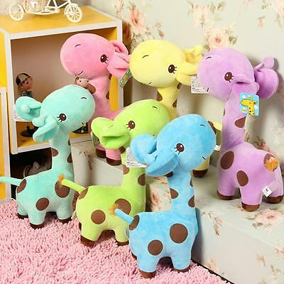 Gift Wedding Birthday 18cm Plush Giraffe Animal Deer Doll Baby Stuffed Toy