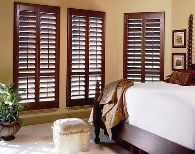 Plantation Shutter 1800x2100 Installed - Basswood or PVC