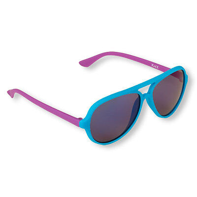 New Children's Place Color Aviator Rubberized Plastic Frame Sunglasses Girls 4-7