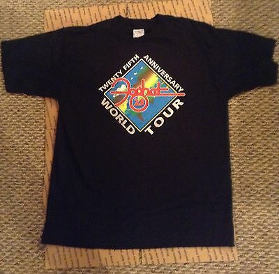Foghat 25Th Anniversary World Tour Tshirt Xl (Great Condition)