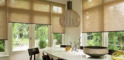 Roller Blinds 1800 x 2100 QUALITY FABRIC THREAD - Free Installation