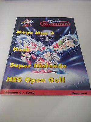 Revista Club Nintendo volumen 4 - 1992 Núm. 4