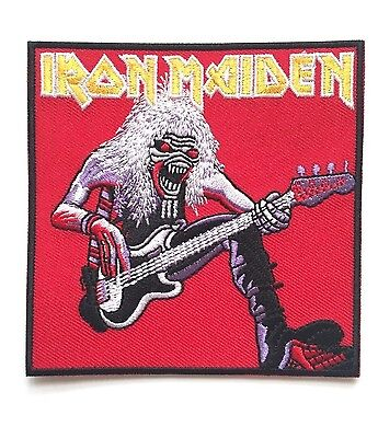 Iron Maiden Fear of the Dark Live Embroidered Patch Iron on or Sew on