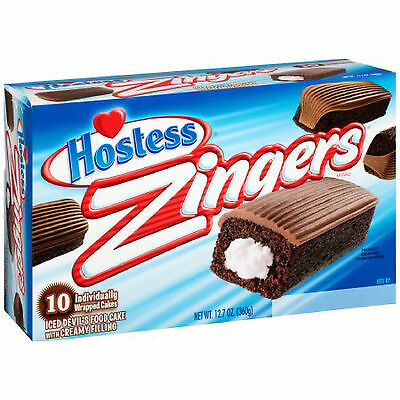 Hostess Chocolate Zingers with Free 2 day shipping!