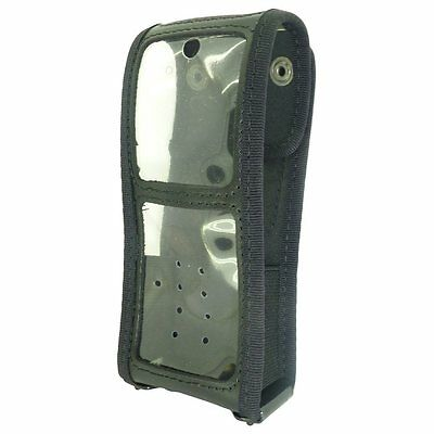 Klickfast Leather case for Sepura STP8000 STP9000 series radios S057