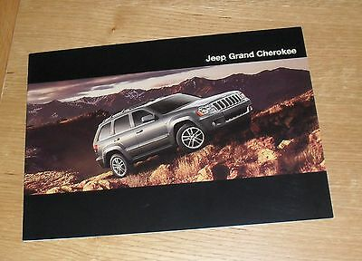 ^ Jeep Grand Cherokee Brochure 2009 - 3.0 CRD Limited Overland 6.1 SRT-8