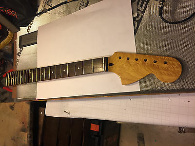 Strat Neck Maple / Rosewood Unfinished 70's Headstock