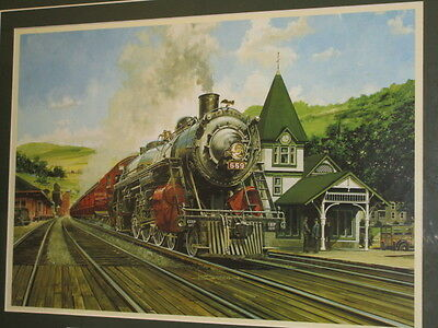 The Alton Limited Picture by Jim Deneen -Postal Commemorative Society Production
