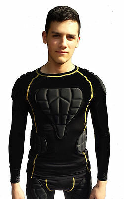 Sports Body Armour Impact Top for paintballing by SPS - size Junior & small