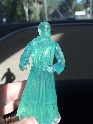 1997 Star Wars Power Of The Force Mail In - Spirit of Obi Wan Kenobi Ghost MINT!