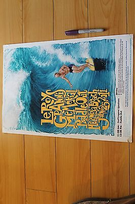 LeRoy Grannis Memorial Paddle Out 2011 Hermosa Beach - 12x18in. Surfing Poster