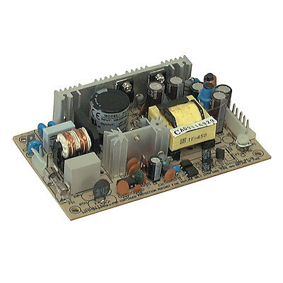 Mean Well PD-45A 40W Open-Frame AC-to-DC Switching Dual Output Power Supply