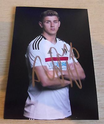 Tom Cairney Signed Fulham 6x4 Photo CURRENT SEASON 16-17 BRAND NEW