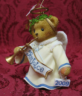 Cherished Teddies 2009 Dated Bell~Let Us All Rejoice