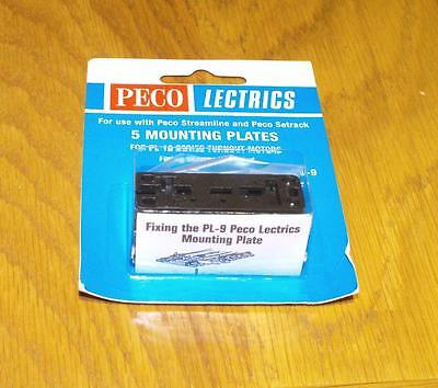 PL-9 qty 5 Mounting plates for PL10 NEW inc P&P