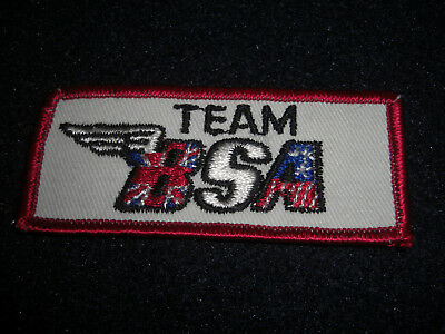 Vintage 1960's Team BSA Motorcycle Patch