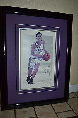 BOBBY HURLEY Lithograph Limited #'d/75 Signed/AUTOGRAPH Kings DUKE Auto RARE!!