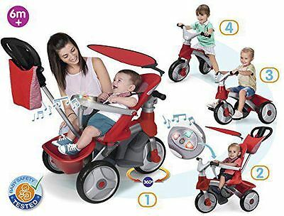 Famosa 800009473 - Feber Baby Trike Easy Evolution Triciclo