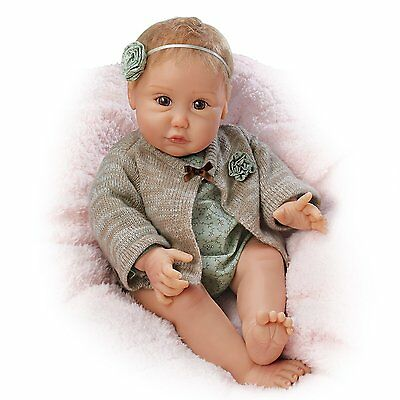 Ashton Drake - NUZZLE COO Interactive Cooing Baby Doll by Sherry Miller