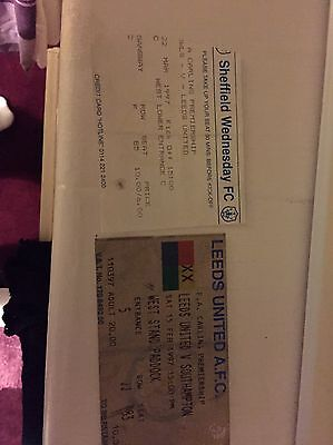 two leeds united tickets