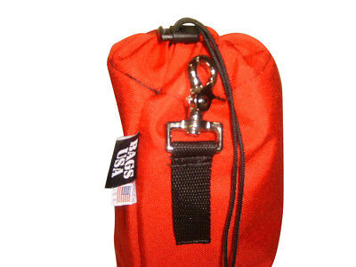 Rope bag,rescue throw rope bag,cordura drop bag holds up to 65' Made in U.s.a.