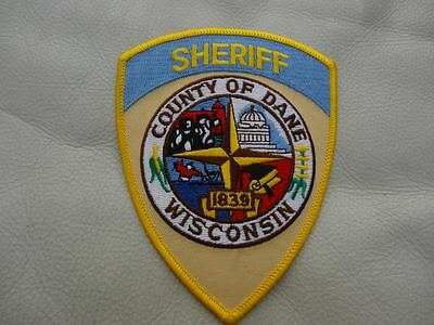 Dane County Wisconsin   Police  Patch.