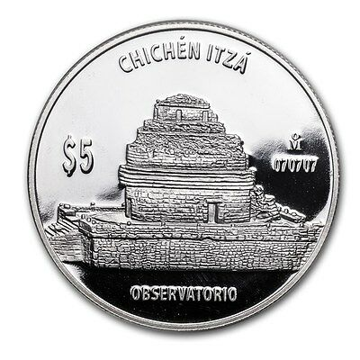 Mexico 1 oz Proof Silver Observatorio (The Observatory) - SKU #71841