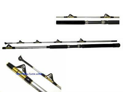 FULL ROLLER BOAT ROD 2.1m 20-50lb WRECK GAME SEA FISHING LINE BRAID LURE RIGS