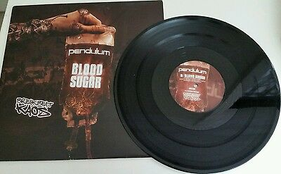 "Pendulum – Blood Sugar / Axle Grinder 12"" Vinyl Records Bbk020 Drum And Bass"