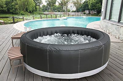 AQUA SPAS In / Outdoor FULL SIZE 6 - 8 SEATER INFLATABLE PORTABLE SPA/HOT TUB