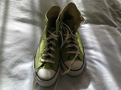Womens Mens Shoes Boot CONVERSE Green Size Mens 7 Womens 9