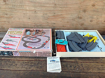 1965 Ideal Toy Co Motorific Torture Track - Ford Mustang Set No. 4219-2