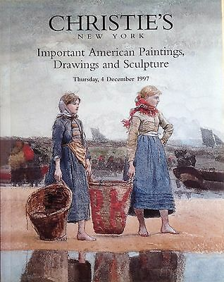 Christie's American Paintings, Drawing and Sculpture 4 December 1997 Sale 8790