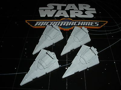 Micro Machines Star Wars The Force Awakens 2015 Lot Imperial Star Destroyer X4