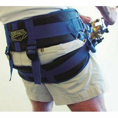 BRAID PRODUCTS STEALTH HARNESS with Fighting Plate and 2 Spinning Reel Straps