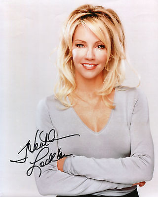 Heather Locklear - Caitlin Moore - Spin City - Signed Autograph REPRINT
