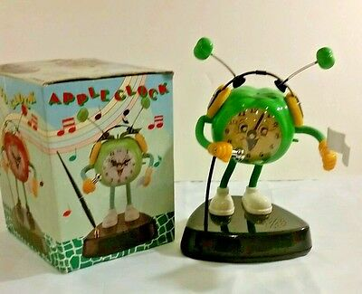 Collectable Dancing Alarm Clock Funny Gift Novelty In Box Plays Music