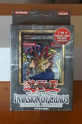 Yu-Gi-Oh Invasion of chaos special edition box