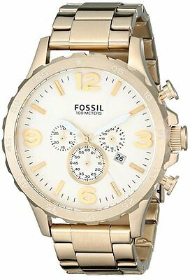 Fossil Men's JR1479 Nate Chronograph Stainless Steel Watch